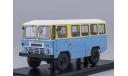 Армейский автобус АПП-66, жёлто-синий, масштабная модель, 1:43, 1/43, Start Scale Models (SSM)