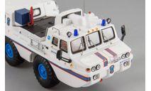 ЗИЛ 49061 'МЧС'белый, масштабная модель, DiP Models, 1:43, 1/43