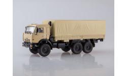 КАМАЗ-43118 6x6 бортовой с тентом, масштабная модель, 1:43, 1/43