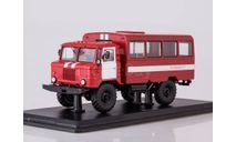 Вахтовый автобус (66), пожарная служба, масштабная модель, Start Scale Models (SSM), 1:43, 1/43