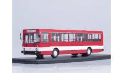 ЛИАЗ-5256 городской (красный/белый), масштабная модель, 1:43, 1/43, Start Scale Models (SSM)
