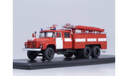 АЦ-40(133ГЯ), красный с белыми полосами, масштабная модель, 1:43, 1/43, Start Scale Models (SSM)