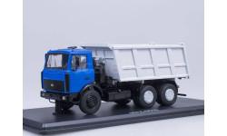 МАЗ-5516 самосвал (синий/серый)