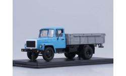 Горький-3307 (двигатель ЗМЗ-513) дерев. борт (голубой-серый)