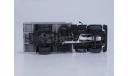 Горький-3307 (двигатель ЗМЗ-513) дерев. борт (голубой-серый), масштабная модель, scale43, Start Scale Models (SSM)