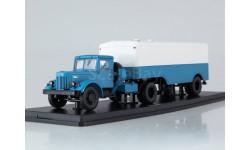 МАЗ-200В с полуприцепом МАЗ-5217, масштабная модель, Start Scale Models (SSM), scale43