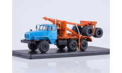 УрАЛ- 43204-41 лесовоз с прицепом-роспуском, масштабная модель, Start Scale Models (SSM), scale43