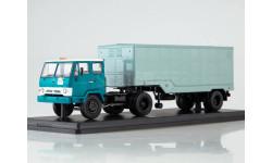 КАЗ-608В с полуприцепом ОДАЗ-794