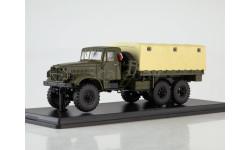 КРАЗ-214 бортовой с тентом