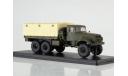 КРАЗ-214 бортовой с тентом, масштабная модель, Start Scale Models (SSM), 1:43, 1/43