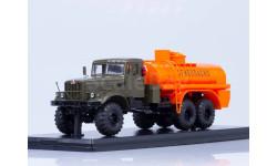 АЦ-8,5 (КРАЗ-255Б), хаки-оранжевый, масштабная модель, Start Scale Models (SSM), 1:43, 1/43