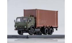 KAMAZ-53212 с 20-футовым контейнером, масштабная модель, 1:43, 1/43, Start Scale Models (SSM)