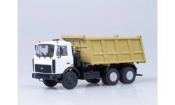 МАЗ-5516 самосвал (белый/желтый)
