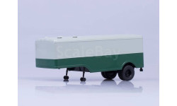 МАЗ-5217, (серый/зеленый), масштабная модель, 1:43, 1/43, Автоистория (АИСТ)