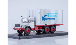 Magirus-290D контейнер, масштабная модель, 1:43, 1/43, Start Scale Models (SSM)