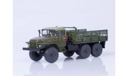 УрАЛ-375 (тентованная кабина) бортовой, хаки
