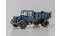 МАЗ-205 самосвал, синий, масштабная модель, Автоистория (АИСТ), scale43