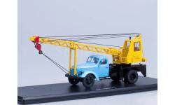 АК-75 (на шасси ЗИЛ-164), голубой/жёлтый