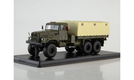 КРАЗ-255Б1 бортовой, масштабная модель, Start Scale Models (SSM), 1:43, 1/43