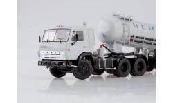 КАМАЗ-54112 с полуприцепом-цементовозом ТЦ-11