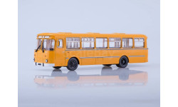 ЛИАЗ-677М городской(жёлтый), масштабная модель, 1:43, 1/43, Советский Автобус