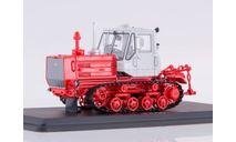 Трактор Т-150 гусеничный (красный/белый), масштабная модель, 1:43, 1/43, Start Scale Models (SSM)