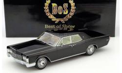 Lincoln Continental Limousine black 1/18 BOS, масштабная модель, 1:18