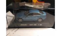 BMW 330i, масштабная модель, Welly, scale43