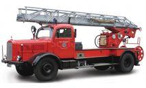 Mercedes Typ L4500S (1944) пожарная лестница, масштабная модель, Mercedes-Benz, Yat Ming, scale43