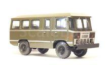 Автобус АПП-66 поздний на базе ГАЗ-66 хаки, масштабная модель, Мастер Шестериков С.  (riddik), scale43