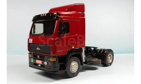 МАЗ-544020 (4х2) седельный тягач, масштабная модель, SMM, scale43