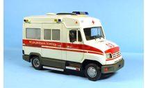 ЗиЛ-32502М «Бычок» медицинская помощь, масштабная модель, KV, scale43