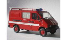 БАЗ-3778 АБР-4 Пожарный, масштабная модель, Alf, scale43