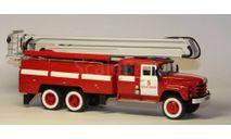 Автоцистерна пожарная АЦ-40 с коленчатым подъемником на базе ЗИЛ 133 ГЯ (203), масштабная модель, Киммерия, scale43