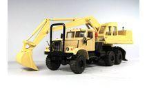 Экскаватор КРАЗ-255 ЭО-4421, масштабная модель, Саратов, scale43
