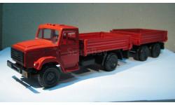 ЗиЛ-4331 с прицепом, масштабная модель, 1:43, 1/43, Арсенал