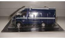 АВТОМОБИЛЬ НА СЛУЖБЕ № 19 ГАЗ 2705 СПЕЦСВЯЗЬ ТОЛЬКО МОСКВА, журнальная серия Автомобиль на службе (DeAgostini), scale43