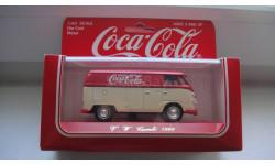 VOLKSWAGEN COMBI 1966 COCA COLA SOLIDO ТОЛЬКО МОСКВА, масштабная модель, 1:43, 1/43