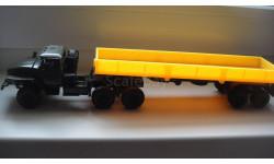 УРАЛ 4320 ТЯГАЧ  ТОЛЬКО МОСКВА, масштабная модель, scale43