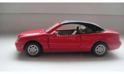 MERCEDES BENZ CLK CARARAMA ТОЛЬКО МОСКВА, масштабная модель, 1:43, 1/43, Mercedes-Benz