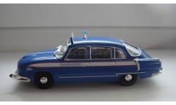 ПОЛИЦЕЙСКИЕ МАШИНЫ МИРА № 57 TATRA 603 ТОЛЬКО МОСКВА, журнальная серия Полицейские машины мира (DeAgostini), scale43