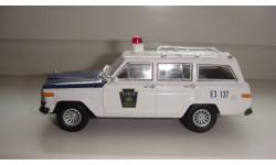 ПОЛИЦЕЙСКИЕ МАШИНЫ МИРА № 39 JEEP WAGONEER ТОЛЬКО МОСКВА, журнальная серия Полицейские машины мира (DeAgostini), scale43