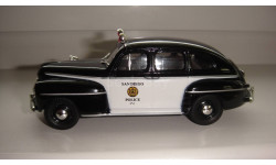 ПОЛИЦЕЙСКИЕ МАШИНЫ МИРА № 50 FORD FORDOR ТОЛЬКО МОСКВА, журнальная серия Полицейские машины мира (DeAgostini), scale43