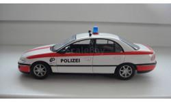 ПОЛИЦЕЙСКИЕ МАШИНЫ МИРА OPEL OMEGA  ТОЛЬКО МОСКВА, журнальная серия Полицейские машины мира (DeAgostini), scale43