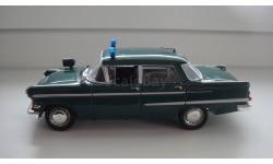 ПОЛИЦЕЙСКИЕ МАШИНЫ МИРА OPEL KAPITAN  ТОЛЬКО МОСКВА, журнальная серия Полицейские машины мира (DeAgostini), scale43