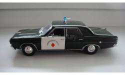 ПОЛИЦЕЙСКИЕ МАШИНЫ МИРА DODGE DART  ТОЛЬКО МОСКВА, журнальная серия Полицейские машины мира (DeAgostini), scale43