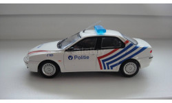 ПОЛИЦЕЙСКИЕ МАШИНЫ МИРА ALFA ROMEO  ТОЛЬКО МОСКВА, журнальная серия Полицейские машины мира (DeAgostini), scale43