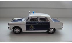 ПОЛИЦЕЙСКИЕ МАШИНЫ МИРА PEUGEOT 404  ТОЛЬКО МОСКВА, журнальная серия Полицейские машины мира (DeAgostini), scale43