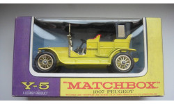 PEUGEOT 1907 MATCHBOX  ТОЛЬКО МОСКВА, масштабная модель