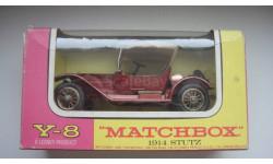 STUTZ 1914 MATCHBOX  ТОЛЬКО МОСКВА